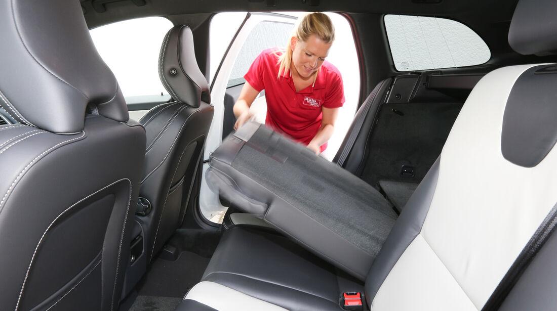 Volvo XC 60 D4 AWD, Rücksitz, Umklappen