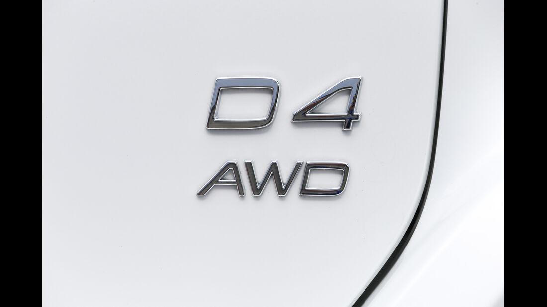 Volvo XC 60 D4 AWD, Typenbezeichnung