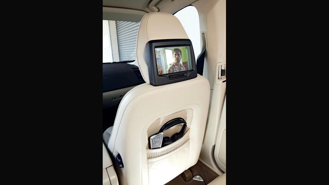 Volvo XC 60 Drive Ocean Race, Fernseher, Kopfstütze