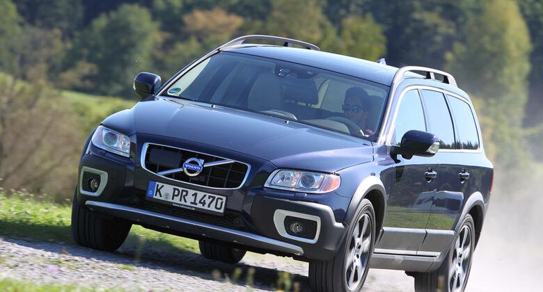 Volvo XC 70 D3 AWD Summum, Frontansicht