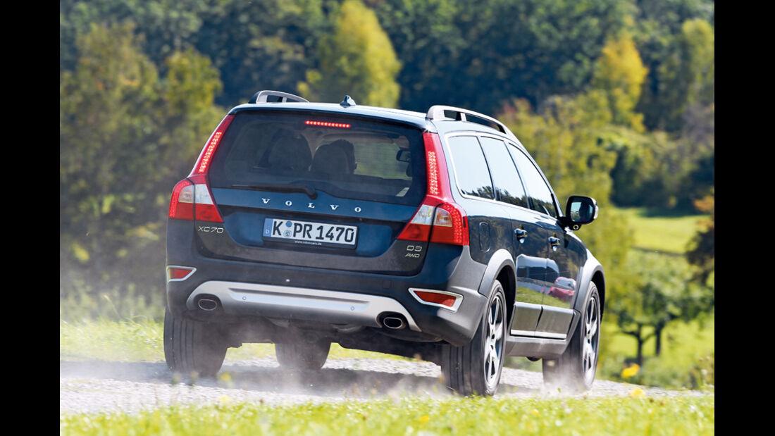 Volvo XC 70 D3 AWD Summum, Heck, Rückansicht