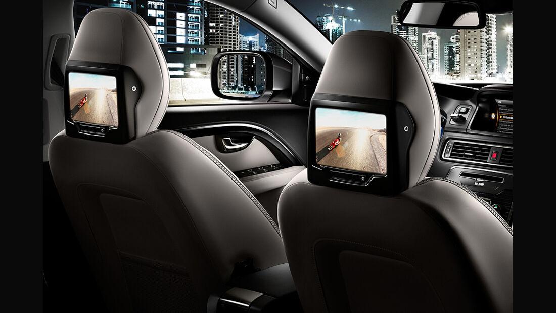 Volvo XC 70 Innenraum, Bildschirme
