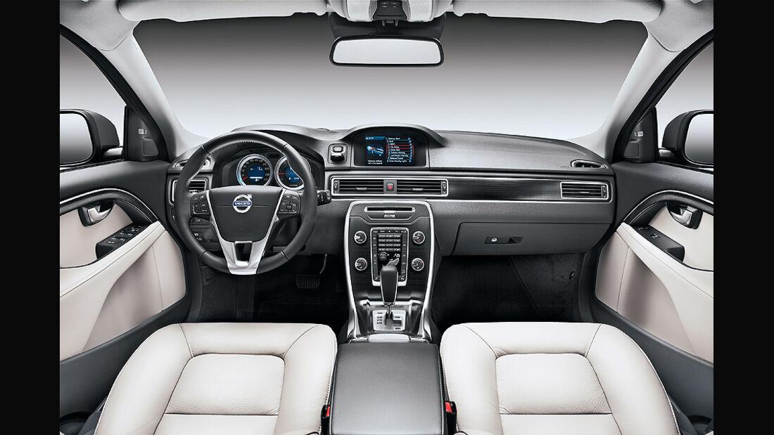 Volvo XC 70 Innenraum, Cockpit