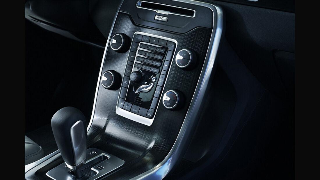 Volvo XC 70 Innenraum, Schalthebel
