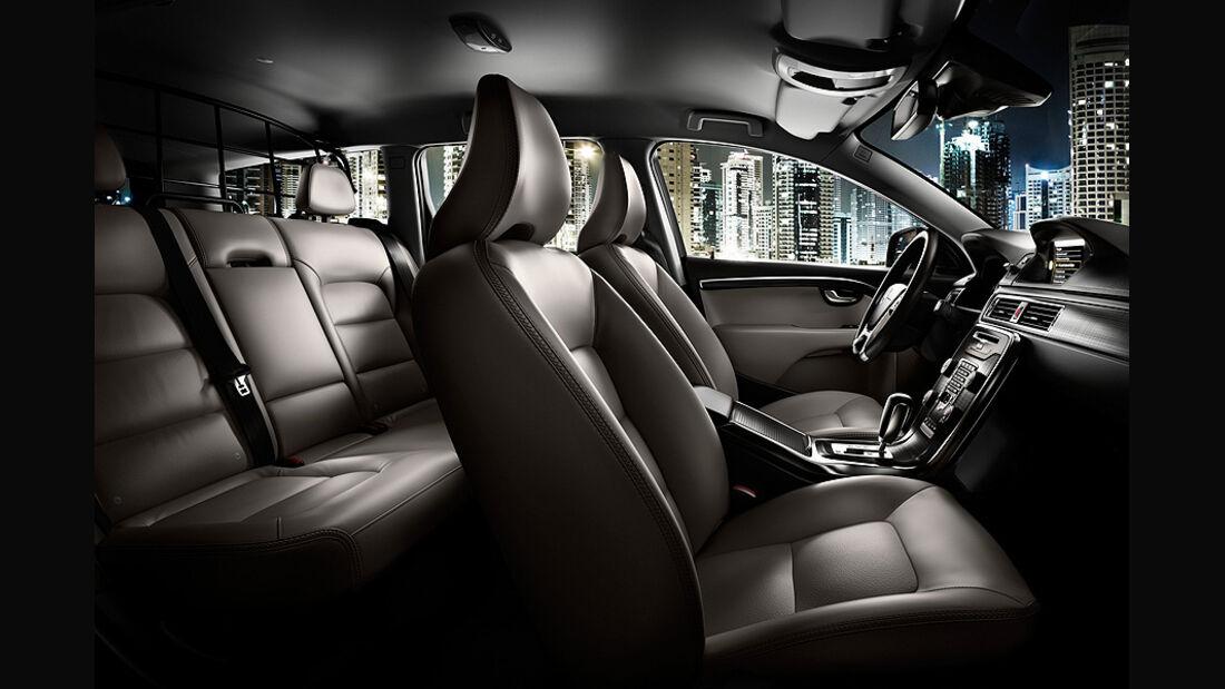 Volvo XC 70 Innenraum, Sitze