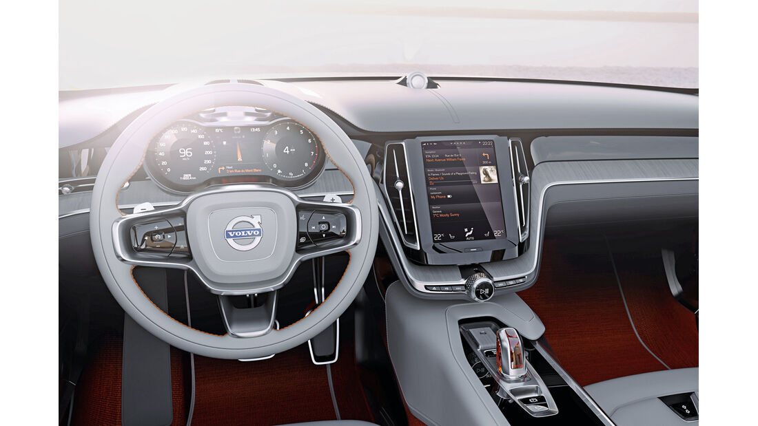 Volvo XC 90, Cockpit