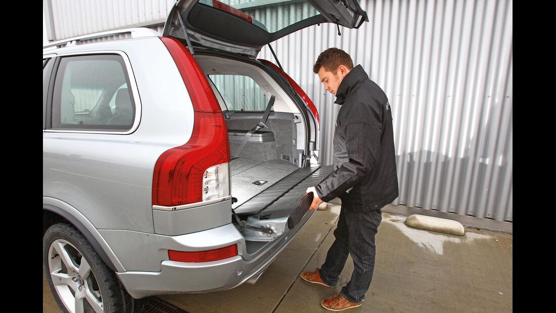 Volvo XC 90 D5 AWD Summum, Heckklappe