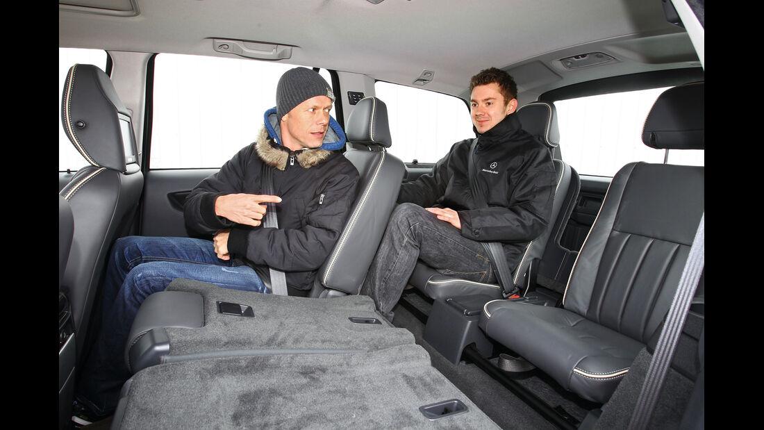 Volvo XC 90 D5 AWD Summum, Innenraum, Rücksitze