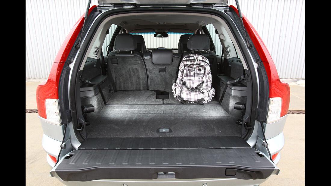 Volvo XC 90 D5 AWD Summum, Kofferraum, Ladefläche