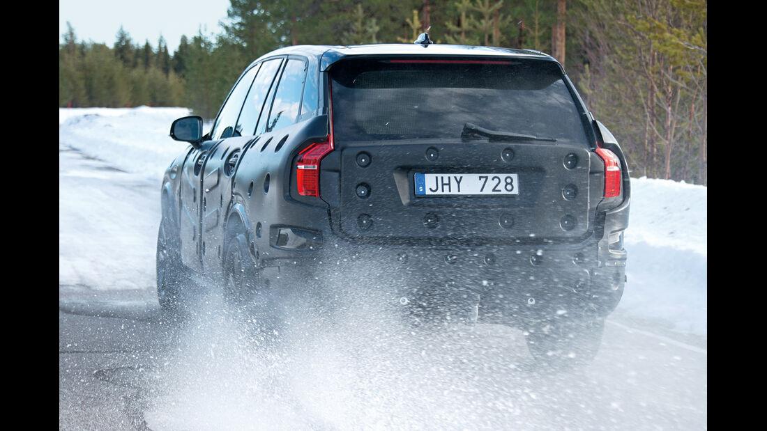 Volvo XC 90, Heckansicht