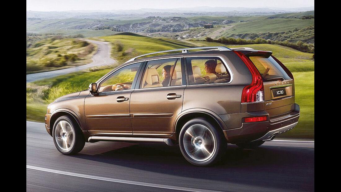 Volvo XC 90, Seitenansicht