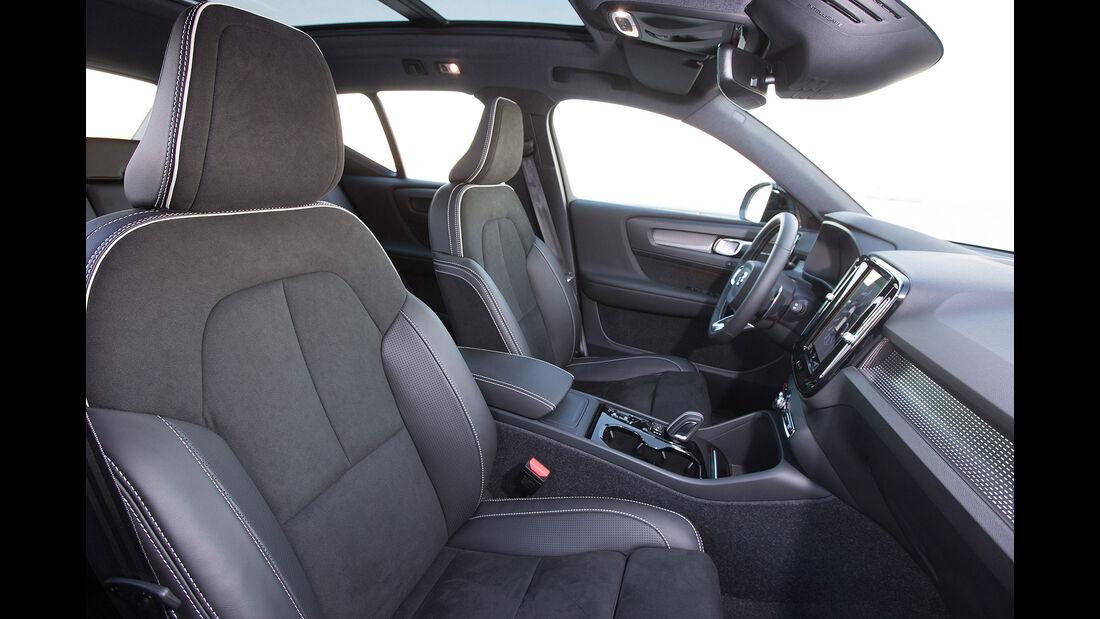 Volvo XC40 (2018) Interior detail