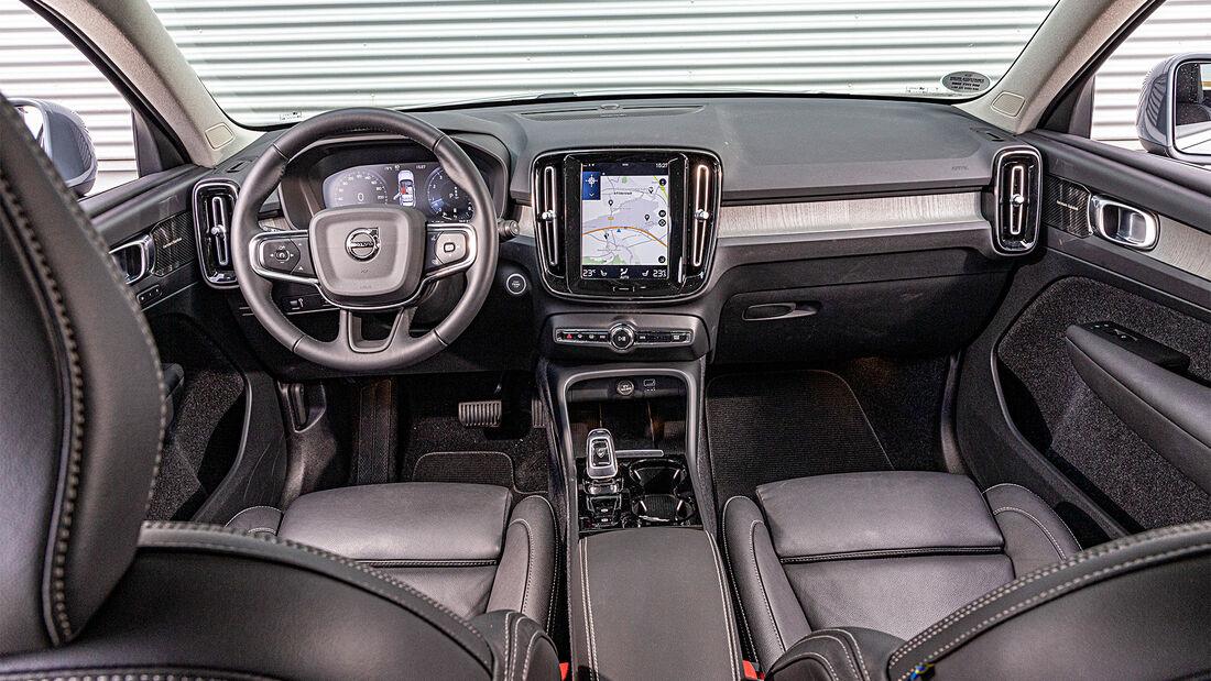 Volvo XC40 B, Vergleich, ams 2420