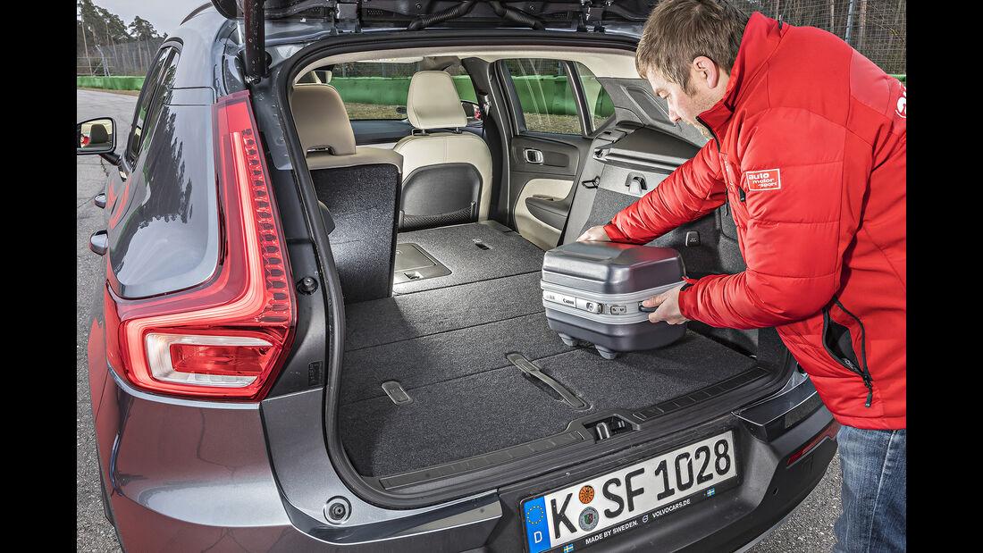 Volvo XC40 D4 AWD, Kofferraum