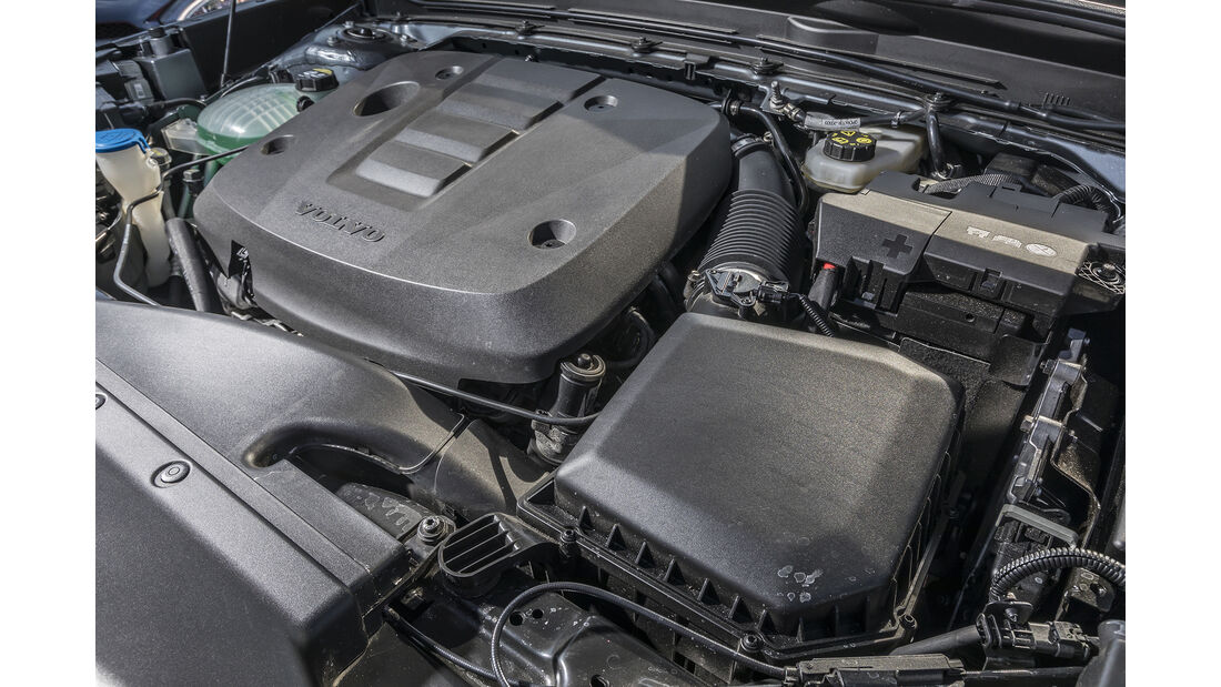Volvo XC40 D4 AWD, Motor