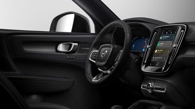 Volvo XC40 Elektro, Google Android Auto OS,