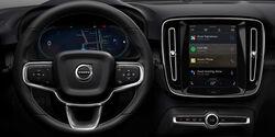 Volvo XC40 Elektro, Google Android Auto OS, Armaturenbrett