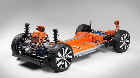 Volvo XC40 Elektroplattform