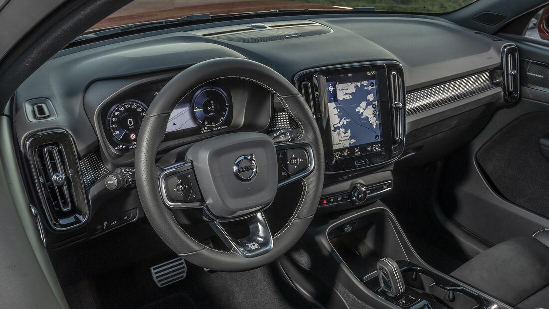 Volvo XC40, Interieur