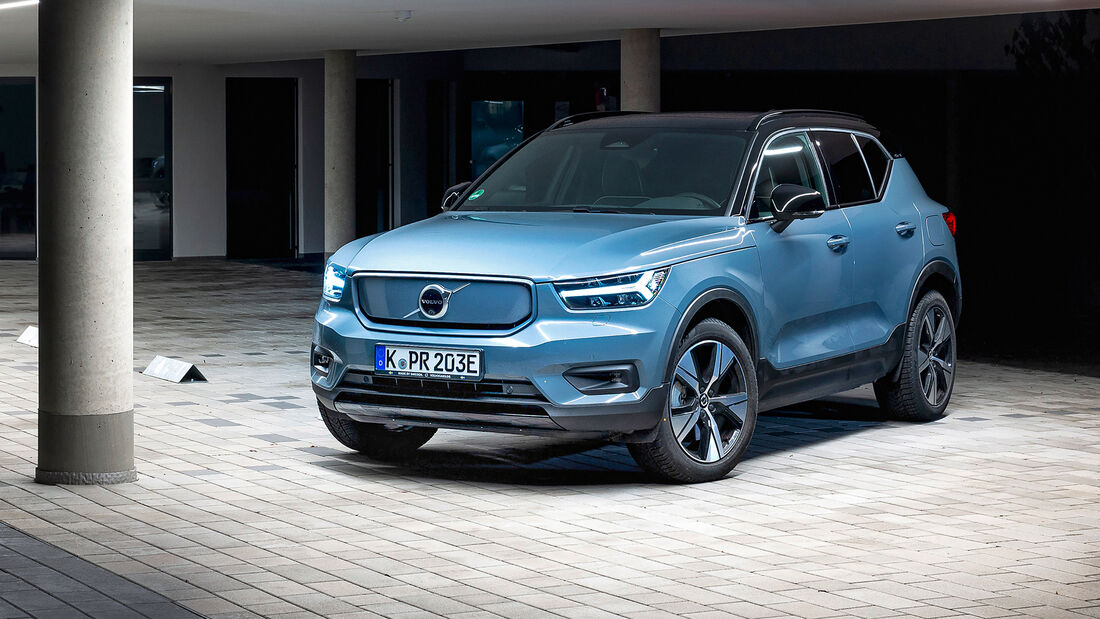 Volvo XC40 Recharge P8 AWD, Exterieur