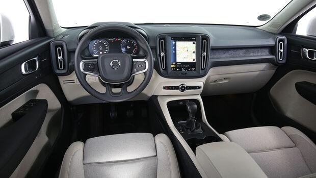 Volvo XC40 T3, Interieur