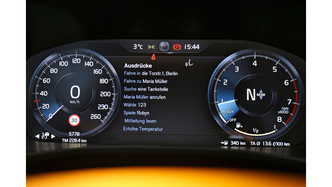 Volvo XC40 T3 Momentum, Interieur
