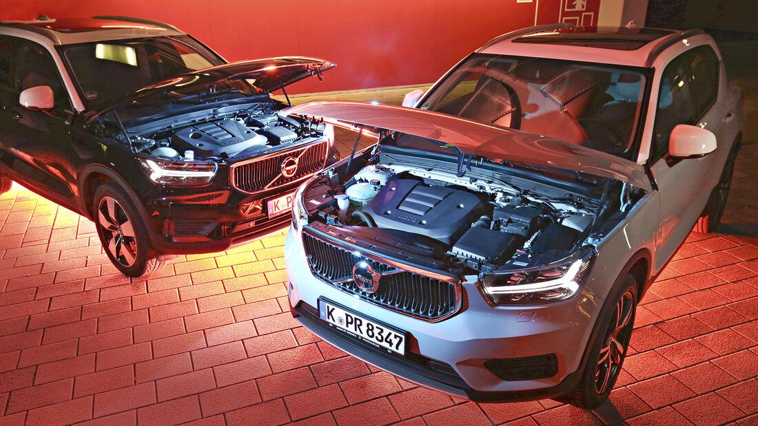 Volvo XC40 T3, Volvo XC40 D3, Exterieur