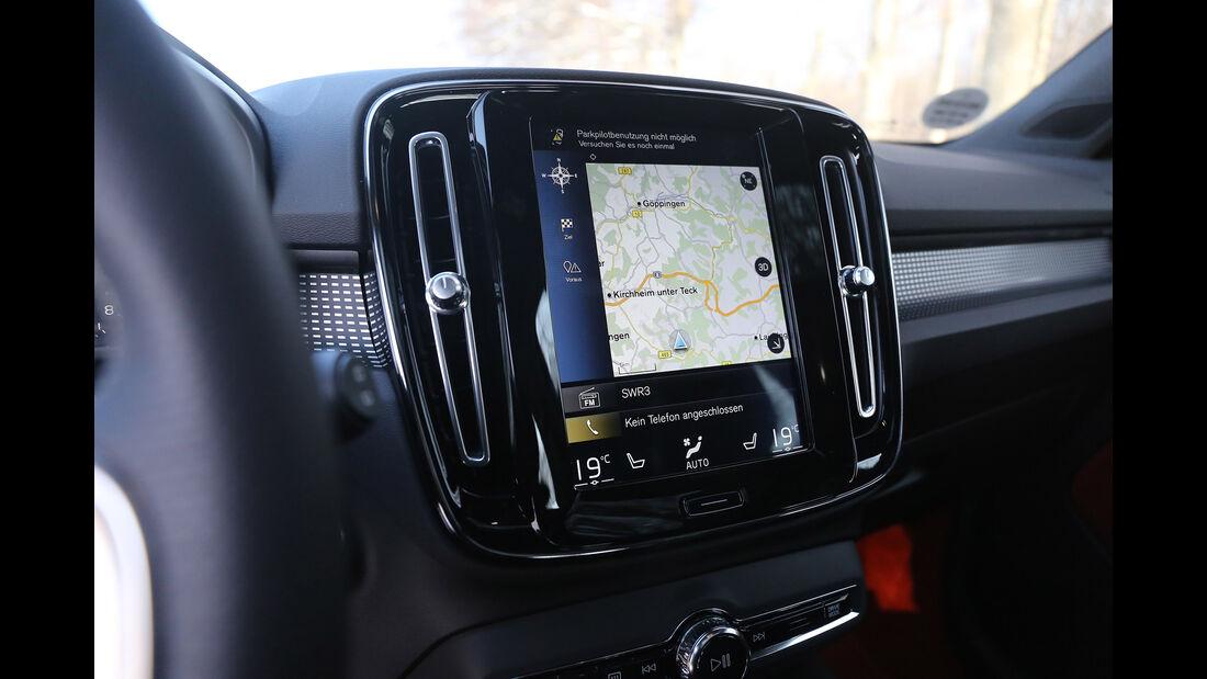 Volvo XC40 T5 AWD, Interieur