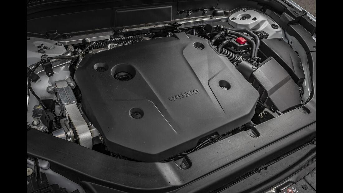 Volvo XC60 B5 AWD, Motor