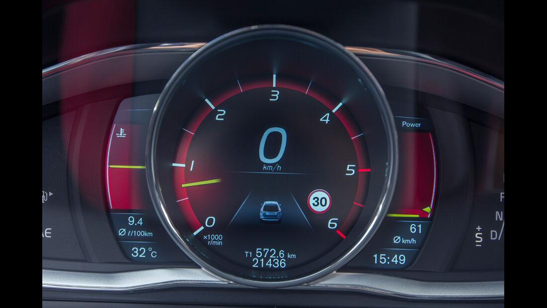 Volvo XC60 D4 AWD, Anzeigeinstrument