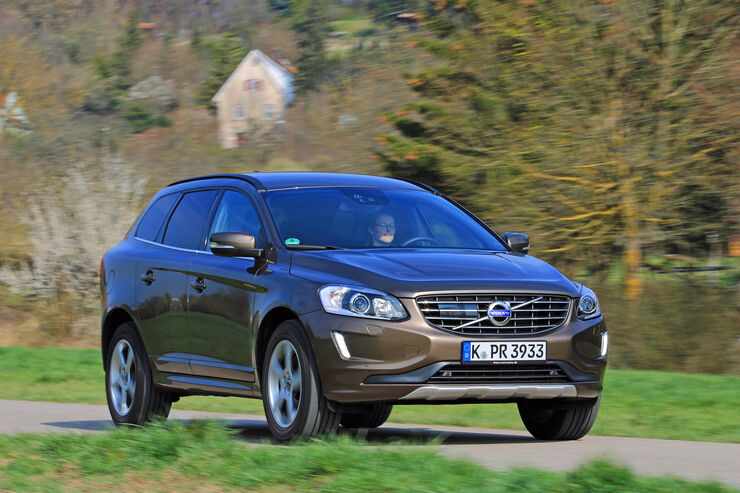Volvo XC60 D4 AWD, Frontansicht