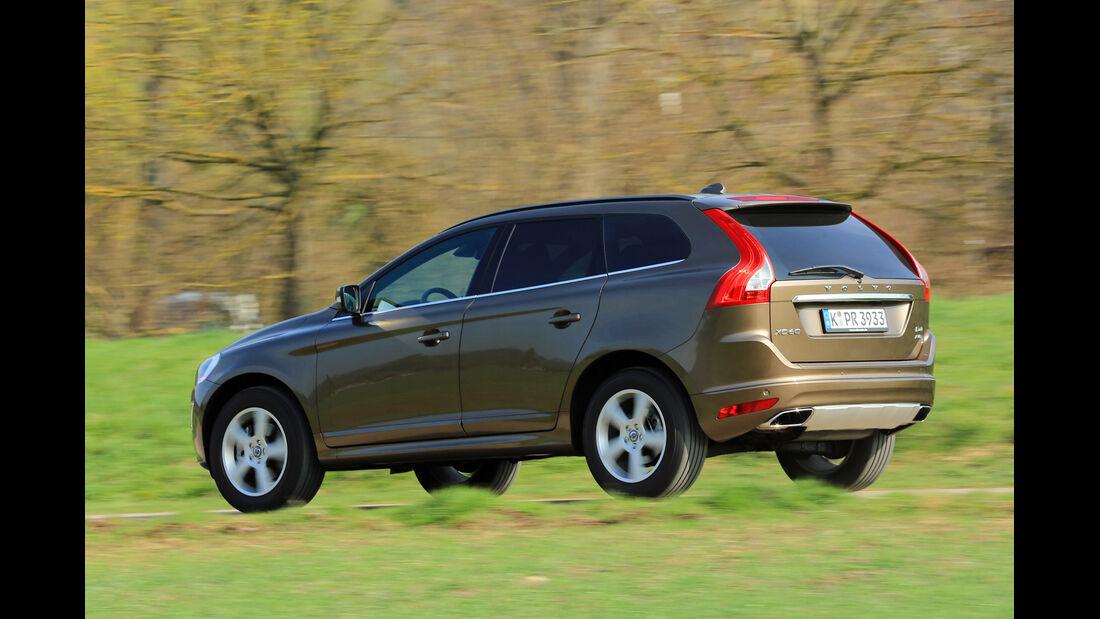 Volvo XC60 D4 AWD, Seitenansicht