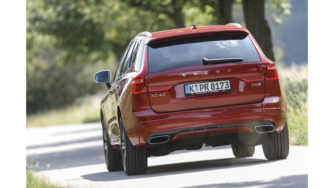 Volvo XC60 D5 AWD, Exterieur