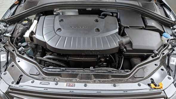 Volvo XC60 D5, Motor