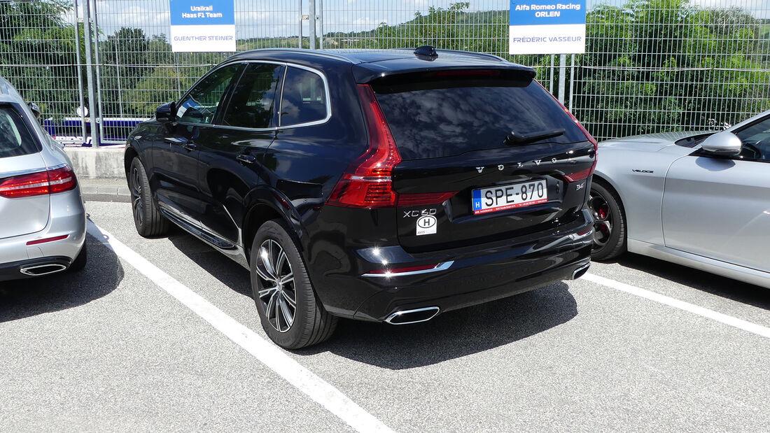 Volvo XC60 - Guenther Steiner - Formel 1 - GP Ungarn 2021
