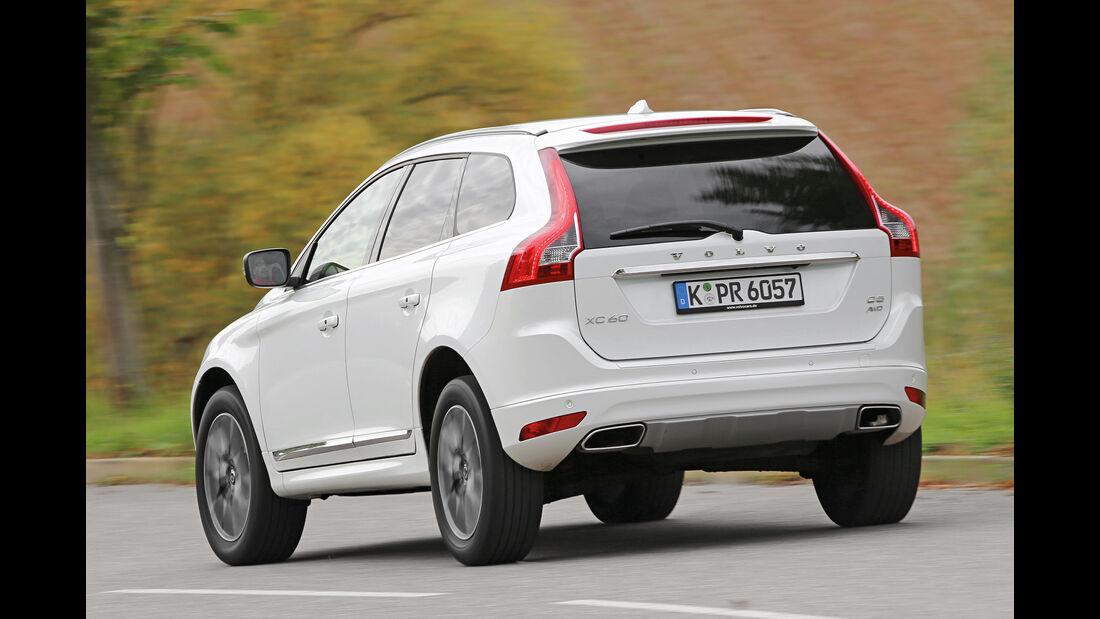 Volvo XC60, Heckansicht
