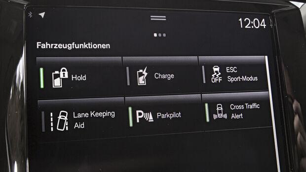 Volvo XC60, Interieur