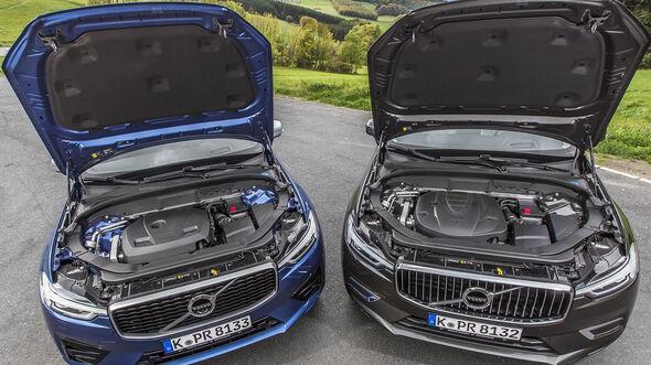 Volvo XC60, Motor