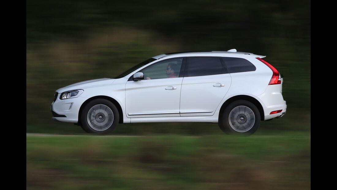 Volvo XC60, Seitenansicht