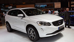 Volvo XC60 T5 Ocean Race Edition, Genfer Autosalon, Messe, 2014