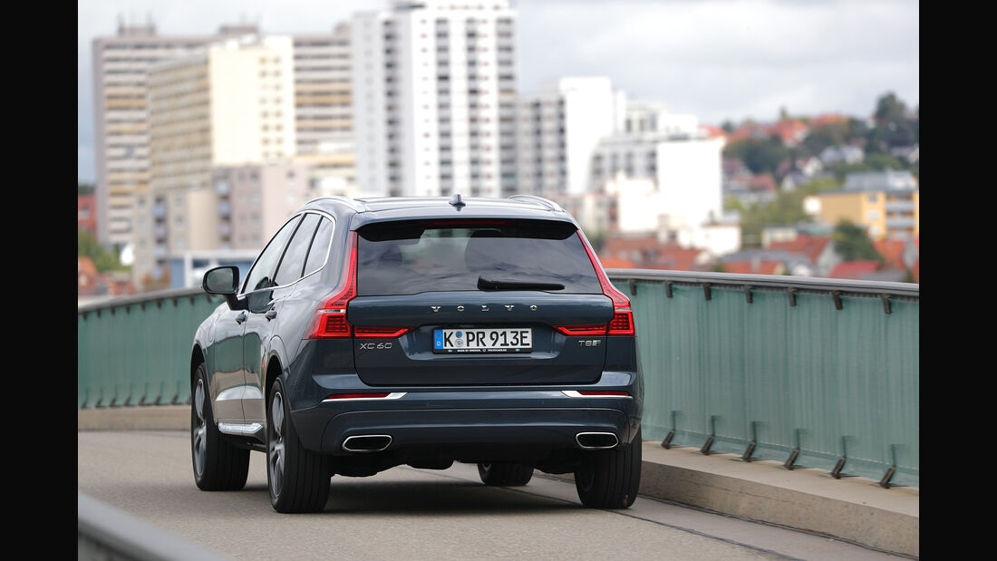 Volvo XC60 T8 Hybrid, Exterieur Heck