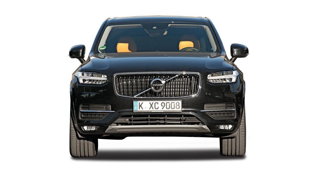 Volvo XC90, Abgastest auf der Straße, AMS2515