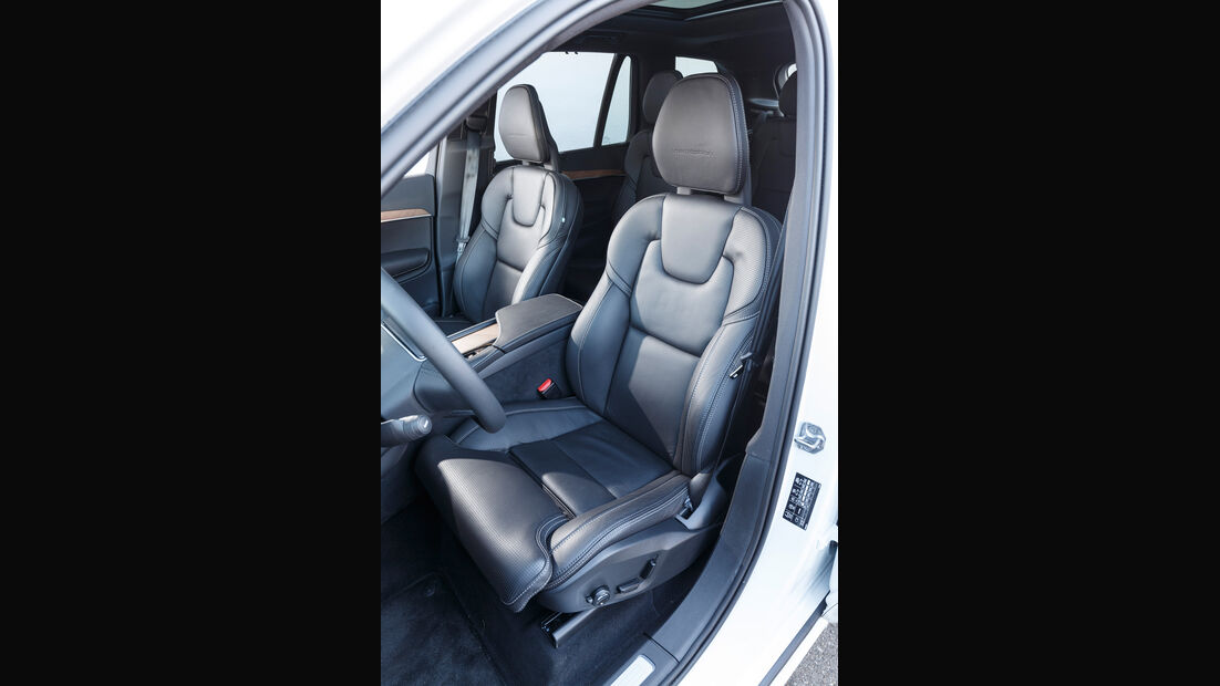 Volvo XC90 D5 AWD, Fahrersitz