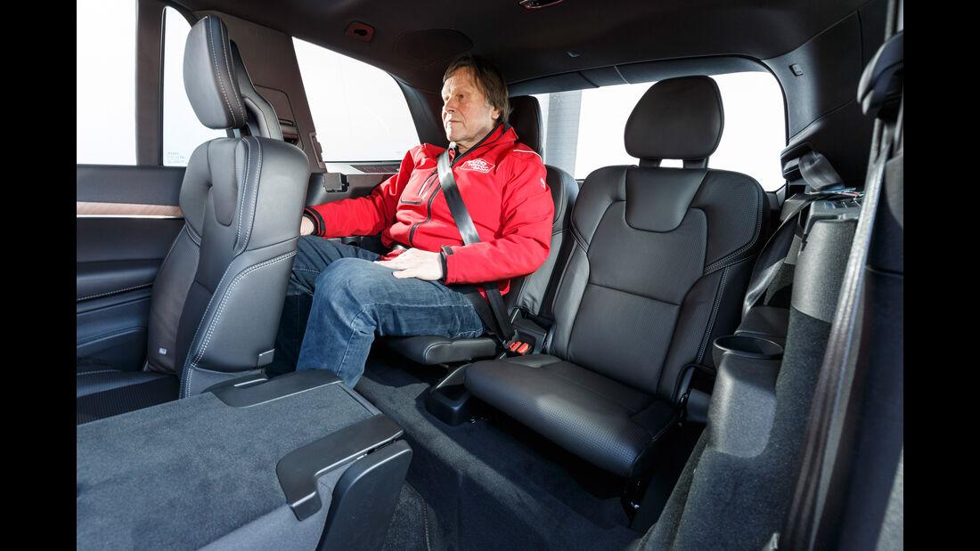 Volvo XC90 D5 AWD, Fondsitze