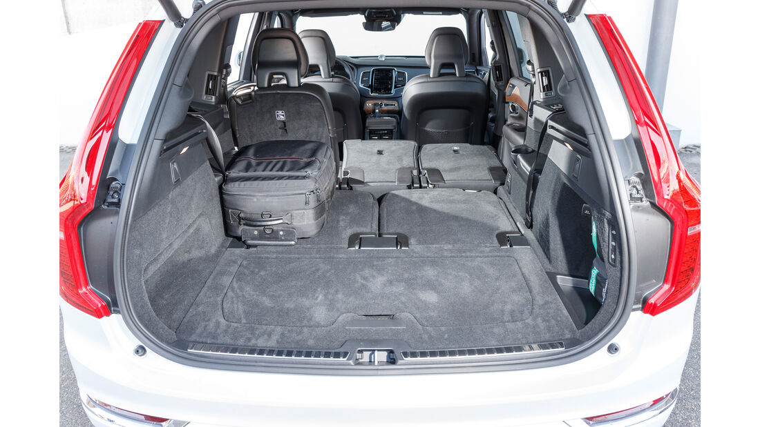 Volvo XC90 D5 AWD, Kofferraum