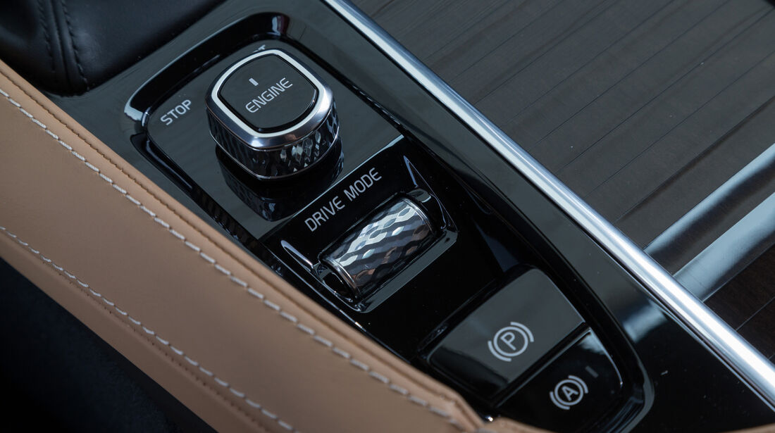 Volvo XC90 D5, Bedienelemente