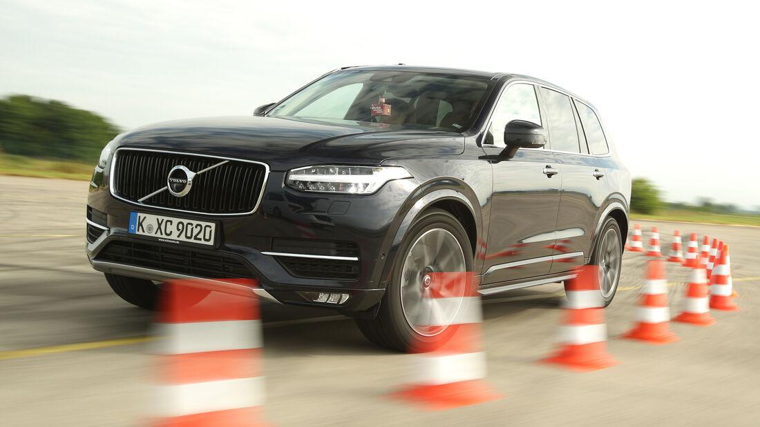 Volvo XC90 D5, Frontansicht