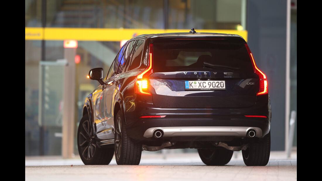 Volvo XC90 D5, Heckansicht