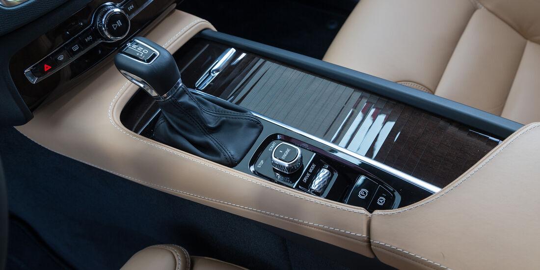 Volvo XC90 D5, Mittelkonsole