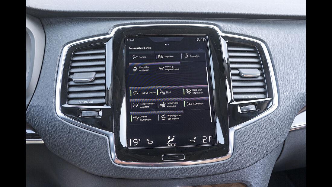 Volvo XC90 D5, Monitor, Infotainment
